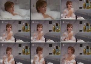 Anja Kling Oben Ohne in der Badewanne