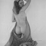 Anne Menden nackt von hinten mit ihrem geilen Arsch