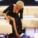 Helene Fischer mit tiefem Blick ins Dekolleté