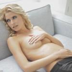 Lena Gercke oben ohne beim Fotoshooting