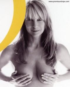 Linda de Mol zeigt nackte Brust