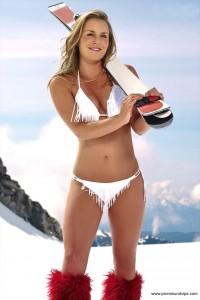 Lindsey Vonn im sexy Bikini