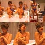 Maren Gilzer nackt in der Badewanne